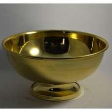 Полоскательная чаша (капельник) для самовара на ножке Латунь