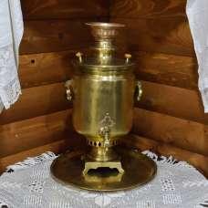 Угольный самовар М.А. Нечаев в Вятке 10 литров