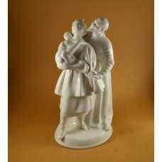 Фигурка «Солоха и дьяк», в белье