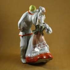 """Белорусский танец"" (Лявониха) Дулево 1962 год"