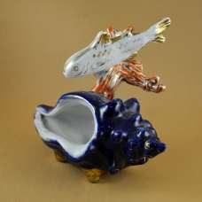 Статуэтка «Ракушка с рыбкой»