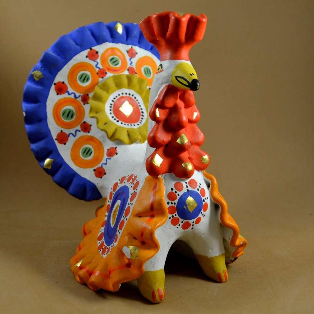 Дымковская игрушка : дымковская игрушка своими руками, мастер класс 91