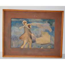"Картина ""Ноктюрн"" А.В. Самсонов 1980 г."