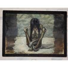 """Картина """"Каторга"""" М.Ю. Рубцов 1988 г."""