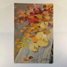 """""""Осенний натюрморт"""" и """"Портрет мужчины с книгой"""" П.С. Вершигоров, Вятка"""