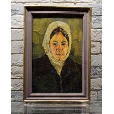 "Картина ""Портрет девушки"" А.Н. Шабуров 1979 г."