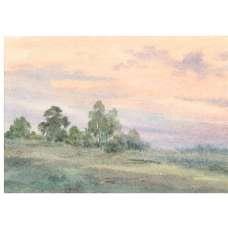 """Картина """"Туман""""  А. Семушин 1978 г."""