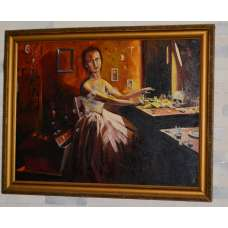 "Картина ""Последняя балерина"" Д. Ананьин 1993 г."