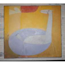 "Картина ""Озеро надежды"" Самсонов А.В. 1997 г."
