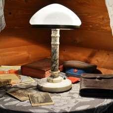 Настольная лампа Сталинский ампир Мрамор 1958 г