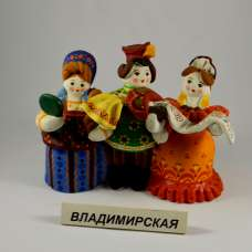 """Ковровская игрушка-свистулька """"Гостинцы""""  Владимирская область"""